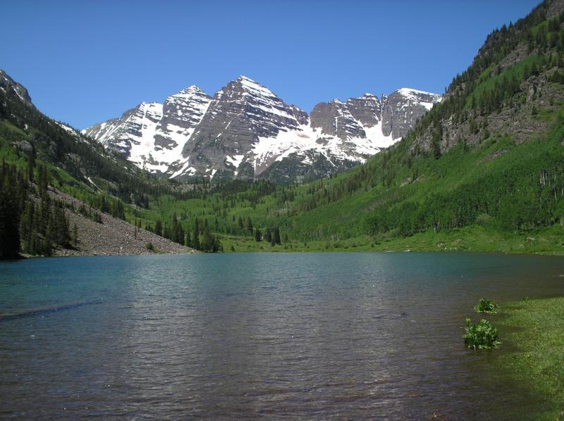 Maroon Bells, Snowmass, Colorado.  We will travel for your Asbestos Inspection!